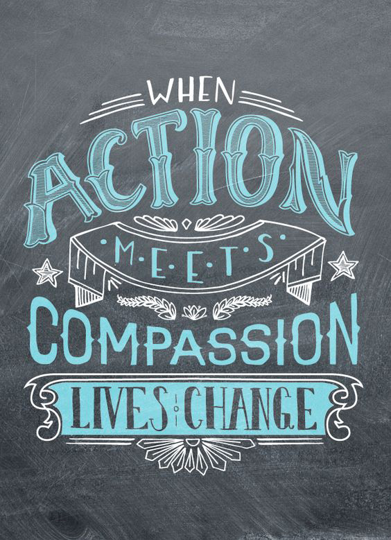 When action meets compassion lives change